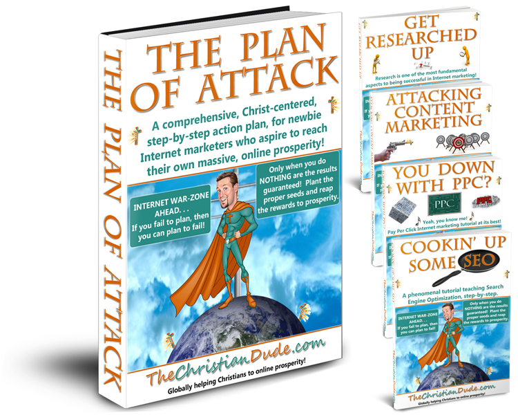 The Plan Of Attack Tutorial Combo Pack: by TheChristianDude